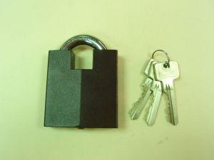 Катинар LOB GRANIT 2 KWG2 със защитена скоба, двустранно заключване, противовзломен, със сертификат  клас3
