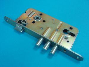 Брава LOB мод.PL90 секретна основна 90/50мм.По DIN.Поцинкована,С 3 шипа.