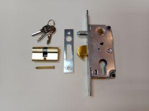Брава IBFM 447S  секретна за плъзгащи метални врати .С език човка.По DIN,