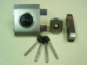 Брава GERDA TYTAN ZX PLUS LKL, допълнителна с врътка и удължени ключове .Цвят-никел сатен.Лява.