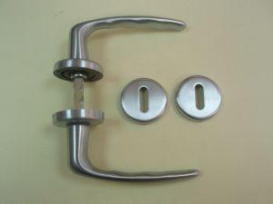 Дръжка HOPPE розетка за обикновен ключ ф 45мм.сат.хром.Разпродажба.
