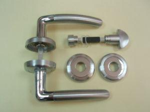 Дръжка ARCA розетка сервиз ф 50мм.хром+сат.хром.Разпродажба.