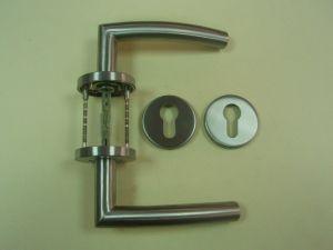 Дръжка DORMA 721 секретна розетка ф 55мм.инокс,тръбна.