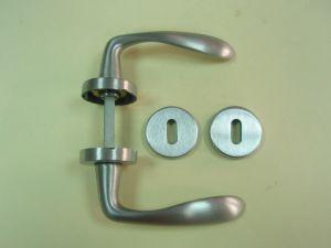 Дръжка THEMA розетка за обикновен ключ ф 45мм.сат.хром.